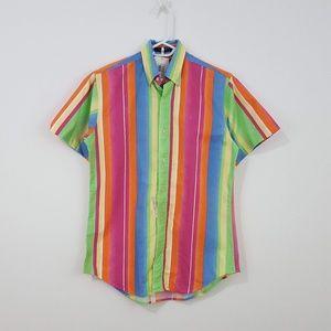 POLO RALPH LAUREN Vintage Striped Button Up Shirt